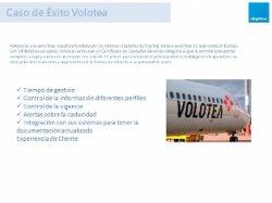 Gestión Documental en la Línea aerea Volotea. Webinar.