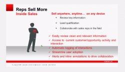 Oracle Sales Cloud CRM. Integración con iPad y Outlook