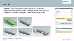 Esculpir formas complejas con NX Realice Shape de Siemens.