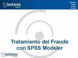 Detección de Fraude con Análisis Predictivo de IBM SPSS en el sector seguros