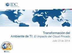 ¿Por qué Cloud? Por IDC Latinoamérica.