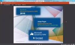 Microsoft Dynamics NAV 2015. Por Josep Pagés, único MVP de Dynamics NAV en España y Latam.