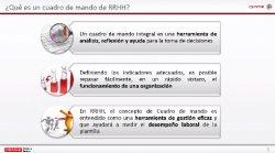 Cuadros de Mando de RRHH para la mejora de la eficiencia de los empleados. Caso de éxito de NUTRECO.