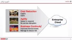 La plataforma Cloud de Oracle. Introducción.