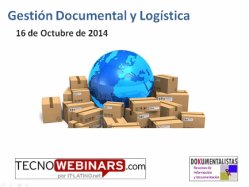 Gestión Documental en la Logística. Teoría y caso práctico.