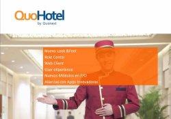 QuoHotel, solución de gestión ERP y PMS para hoteles y cadenas hoteleras.