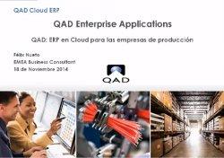 QAD ERP Cloud