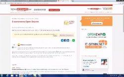 Mesa Redonda de la conferencia E-commerce Open Source
