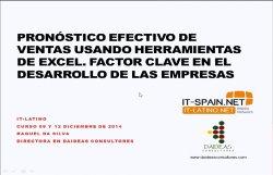 Planificación de Ventas con Excel (I)