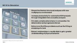 Nuevo Siemens NX10 CAE: Descubra las novedades en simulación