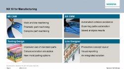 Nuevo Siemens NX10-CAM: Descubra las novedades en fabricación