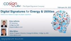 Firma Digital en el sector energético. Por ARX.