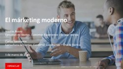 Oracle Marketing Cloud, herramienta para el márketing moderno