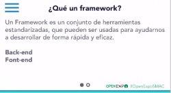 Desarrollo de aplicaciones móviles con Frameworks Open Source