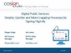 Firma digital en la Administración Pública