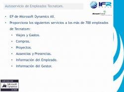 Caso de estudio: Administración de Personal con Dynamics AX en la Ingeniería Multinacional Tecnatom.