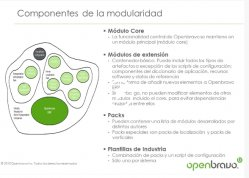 Openbravo ERP: ERP modular