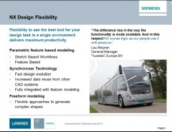 Siemens NX para diseño en Automoción y Transporte