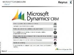 Intro y demo a Microsoft Dynamics CRM (Por Keyrus)