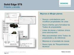 Novedades en Siemens Solid Edge ST8