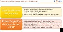 Gestión de Almacenes en Microsoft AX con Quomobile