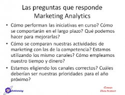 Marketing Analytics con
