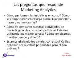 Marketing Analytics con