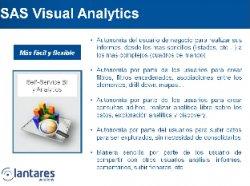 Análisis de precios con SAS Visual Analytics. Por Lantares.