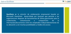 SharePoint para RRHH con Quoshare