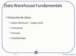 3. Experto en Modelado de Data Warehouse (Curso de 18 hs.) Sesión III