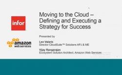 ¿Por qué debería valorar un ERP en el Cloud? Por Amazon WS e Infor