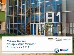 Presupuestos con Microsoft Dynamics AX Financial Management