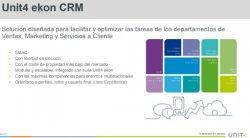 Unit4 CRM: Intro y demo