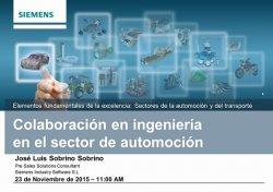 Ingeniería colaborativa con Teamcenter en el sector de Automoción
