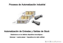 Automatización del procesos de entradas y salidas de stock en Industria