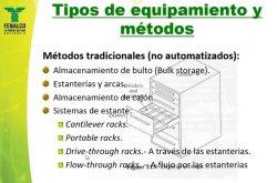 Sistemas, Tecnicas y Equipos de Almacenamiento