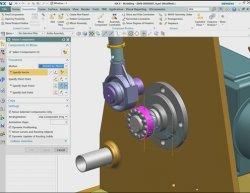Siemens NX para diseño de maquinaria industrial