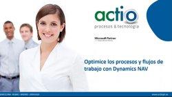 Automatización de procesos y workflows con Microsoft Dynamics NAV