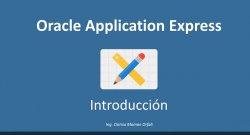 Introducción a Oracle Application Express 5.0