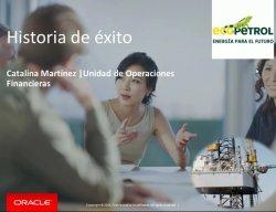 Consolidación y Reporting financiero en la colombiana Ecopetrol con Oracle Hyperion Financial Management