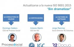 Cómo adaptarse a la nueva ISO 9001:2015 con R2 Docuo