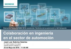 Siemens Teamcenter. Intro y demo.