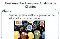 Herramientas gratuitas para la Analítica de Clientes