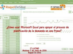Planificación de la demanda con Microsoft Excel
