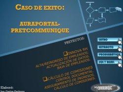 AuraPortal BPM en cadena de 70 tiendas de móviles de México. Caso Práctico.