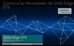 Solid Edge ST9: Novedades.