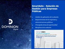 SmartAdm: Gestión integral para empresas públicas locales de España. Intro.