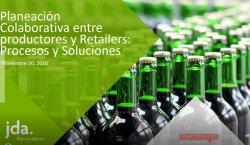 Planeación Colaborativa entre Productores y Retail: Procesos y Soluciones