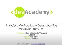 Deep Learning en aplicaciones empresariales: Predicción de Churn