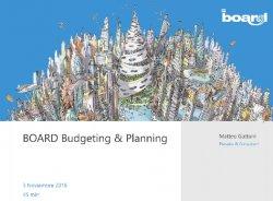 Board Budgeting & Planning